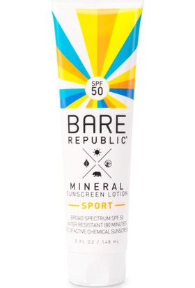 Coola Bare Republic Mineral Sport SPF 50 Lotion 148 ml.