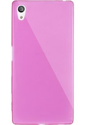 Case 4U Sony Xperia Z5 Ultra İnce Silikon Kılıf Pembe