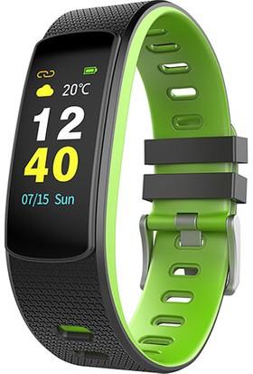 Everest Ever Fit W45 Full Dokunmatik Renkli Ekran Yeşil/Siyah Akıllı Bileklik