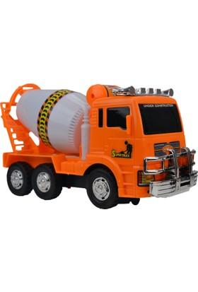 Power Hob Oyuncak Beton Mikseri İş Makinesi 24 cm