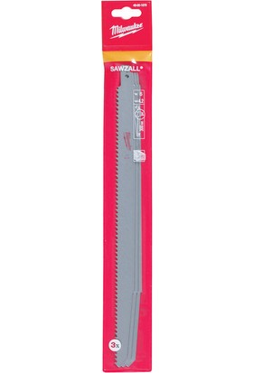 Milwaukee SAWZALL® Kılıç Testere Bıçağı 3'lü Paket 300mm