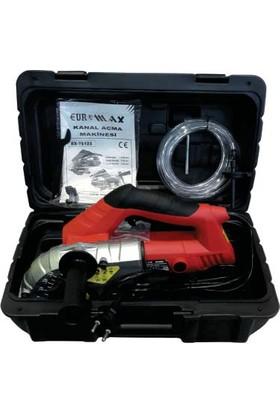 EuroMax 75123 Kanal Açma Makinesi 1500 Watt 125 mm