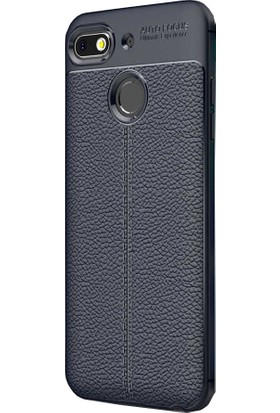 CoverZone General Mobile GM 8 Go Silikon Kılıf Lacivert