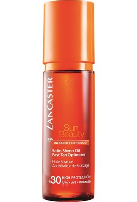 Lancaster Sun Beauty Satin Sheen Oil Fast TanSpf 30 150 Ml