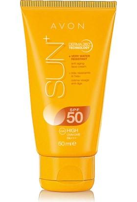 Avon Sun+ Yüz İçin Güneş Kremi 50 Ml Spf 50