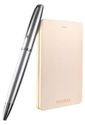 Toshiba Canvio Alu 2TB 2.5'' Special Edition Gold (Altın) Taşınabilir Disk HDTH320EC3CA