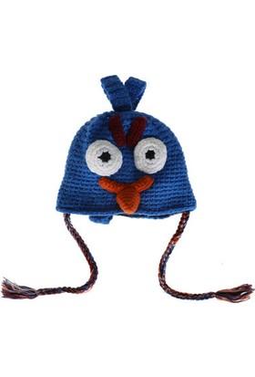 Hats For All Mavi Örgü Şapka