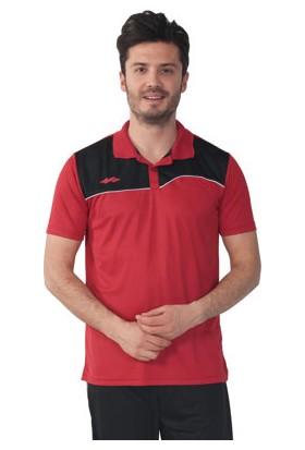 Sportive Camp Erkek Polo Kırmızı -Siyah T-Shirt