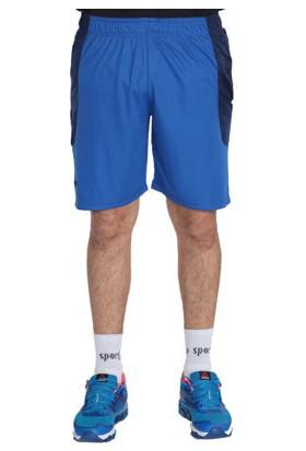 Sportive Erkek Mavi Spor Şortu