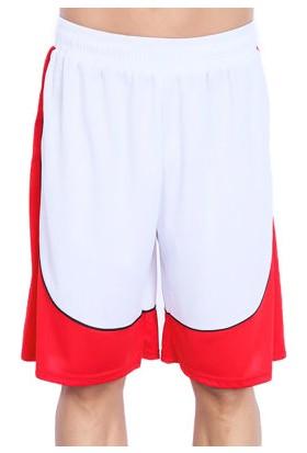Sportive Erkek Beyaz Basketbol Şortu