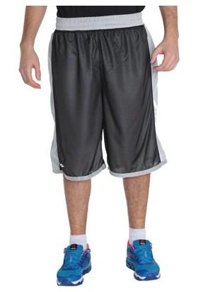 Sportive Basics Line Erkek Çift Taraflı Gri Basketbol Şortu