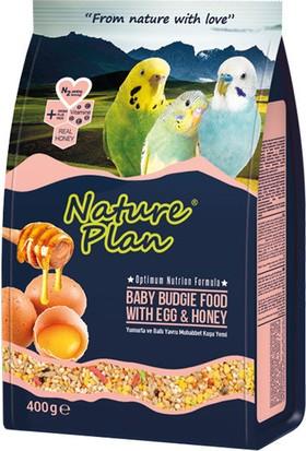 Nature Plan Ballı Yumurtalı Yavru Muhabbet Kuş Yemi 400 Gr ( 10 Adet )