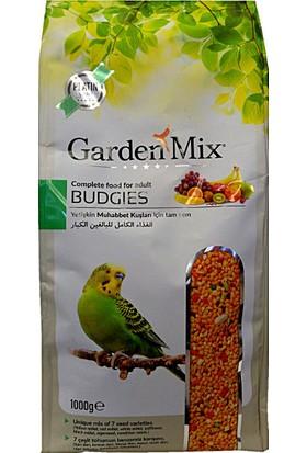 Gardenmix Platin Seri Vitaminli Meyveli Muhabbet Kuşu Yemi 1 Kg ( 10 Adet )
