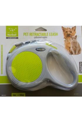 Nunbell Kedi Köpek Otomatik Gezdirme Tasması 18 Kg / 5 Metre