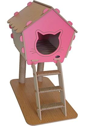Patihomes Katlı Kedi Tırmalama Yuvalı 40*75 Cm