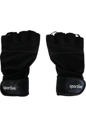 Sportive Siyah Ağırlık Eldiveni