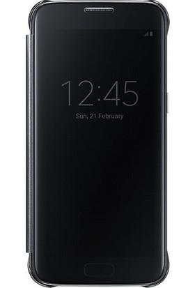 Ehr. Samsung Galaxy S7 Edge Aynalı Flip Cover Kılıf