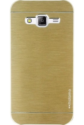Ehr. Samsung Galaxy J2 Prime Sert Motomo Kapak + Ekran Koruyucu Cam