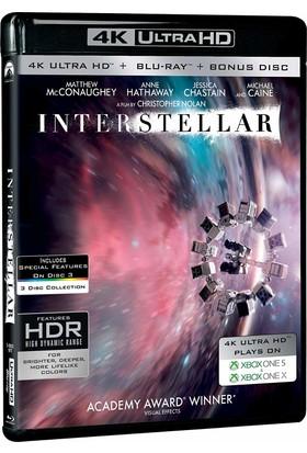 Interstellar -Yıldızlararası (4K Uhd +Blu-Ray+Bluray Bonus Disc)