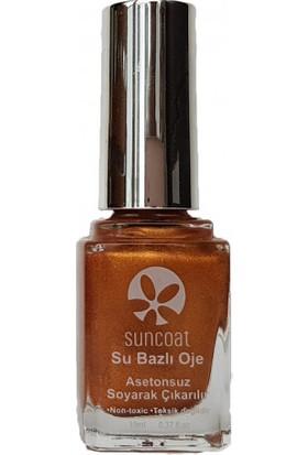 Suncoat Doğal Mineral Oje - Delicious Peach