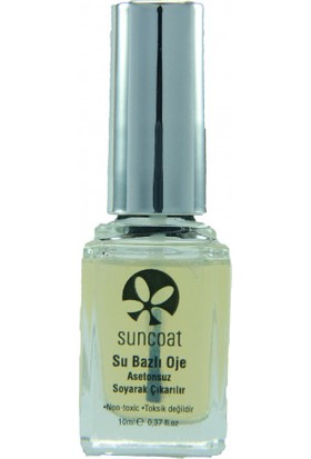Suncoat Doğal Mineral Oje - Clear Gloss