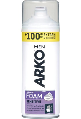 Arko Tıraş Köpüğü Sensitive 200 ml +100 ml