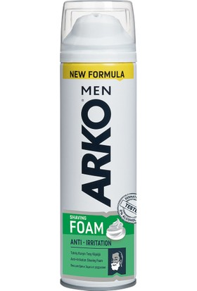 Arko Tıraş Köpüğü Anti Irritation 200 ml