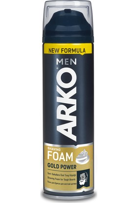 Arko Men Tıraş Köpüğü Gold Power 200 Ml
