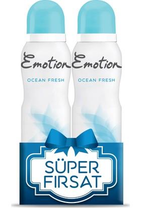 Emotion Ocean Fresh 2'li Kadın Deodorant 2X150ml