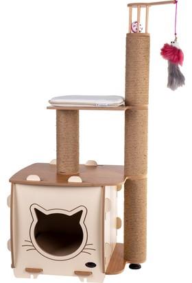 Patihomes Ada Katlı Kedi Evi