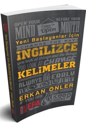 Benim Hocam Yayınları 2018 Yeni Başlayanlar İçin İngilizce Kelimeler - Erkan Önler