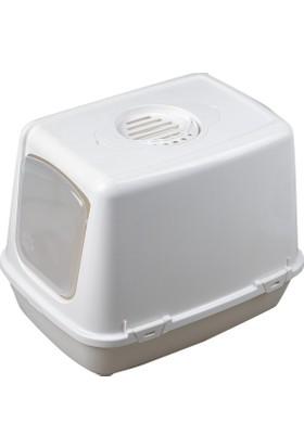 Çınar Kedi Kapalı Tuvalet +Kürek +Koku Filtresi Uygun Fiyata Bu Kalite