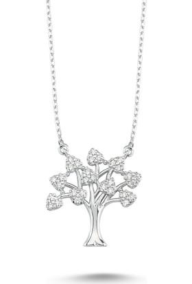 MyGümüş Hayat Ağacı Gümüş Kolye