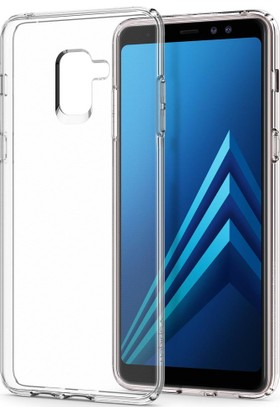 Spigen Samsung Galaxy A8 Plus (2018) Kılıf Liquid Crystal Clear - 591CS22758
