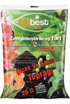 Agrobit Bitbest Bio 20Lt Bitki Ve Saksı Toprağı , Torfu Or.Gübreli 1105-3