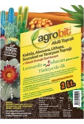Agrobit Kaktüs Aloevera Lithops Ve Succulent Toprağı 2 Lt 1104-01