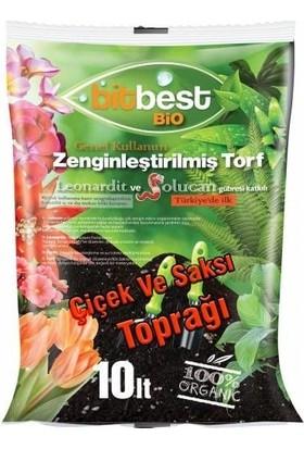 Agrobit Bitbest Bio 10Lt Bitki Ve Saksı Toprağı , Torfu Or.Gübreli 1105-2