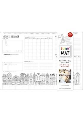 Akademi Çocuk Funny Mat - Çalışma Masam/Business Planer (Yetişkin )