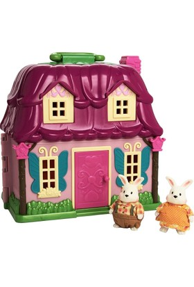 Li'l Woodzeez Playset & Rabbit Family