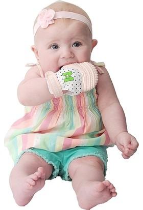 Malarkey Kids Diş Kaşıyıcı Pastel Pembe Eldiven