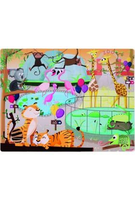 Janod Hissedilebilir Puzzle Animals