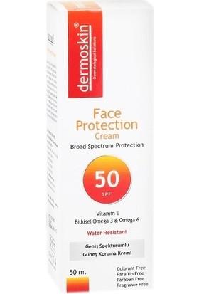 Dermoskin Spf 50+ 50 ml Yüzler için Güneş Koruma Kremi