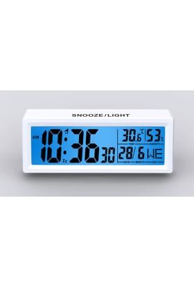 Mack MCT-531 WH Beyaz Dijital Masa Saati