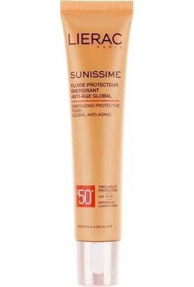 Lierac Sunissime Energizing Protective Fluid SPF50 - Yüz İçin Güneş Kremi