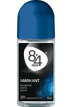 8X4 Markant Roll-On 50Ml Erkek