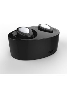Schulzz K2 Sport Handsfree Kablosuz Bluetooth Mikrofonlu Kulaklık Siyah - Gümüş