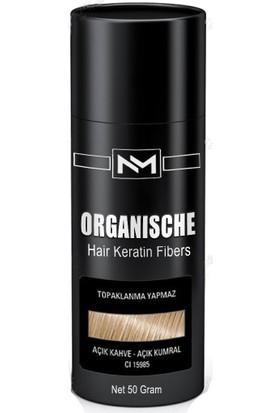 Organische Hair Building Fibers 50 gr Açık Kahve Toppik Saç Tozu