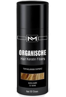 Organische Hair Building Fibers 50 gr Koyu Sarı Toppik Saç Tozu