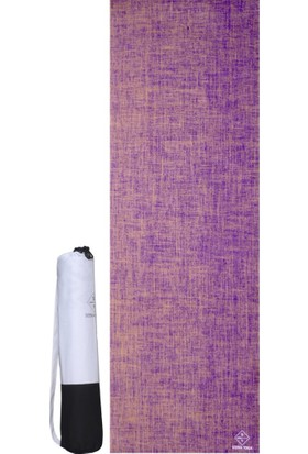 Seeka Jute Series Purple Yoga ve Pilates Matı