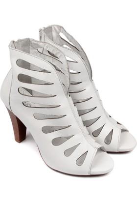 Gön Deri Kadın Ayakkabı 03118